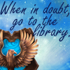 hsavinien: (Rowling - Ravenclaw library)