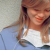 mortalcity: Meredith Grey, looking down and smiling. (GA | I just wanna be OK today)