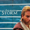 "anaraine: Obi-Wan Kenobi stands by a window with a view of the stormy seas of Kamino, accompanied by the text ""the raging storm"". ([star wars] raging storm)"