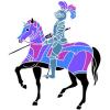 scfrankles: knight on horseback with lance lowered (Default)