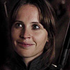 made_of_stars: (jyn - a bit of a smile)