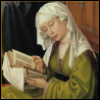 "nebroadwe: From ""The Magdalen Reading"" by Rogier van der Weyden.  (Magadalen)"