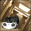 cyanide_breathmint: This is a tiny panda shopped into the inception hallway scene (arthur!panda, hallway, inception, tarepanda)