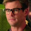 mjolnir_retriever: Chris Hemsworth as Kevin from the Ghostbusters, looking amiably neutral (IMDB flu - Kevin neutral)