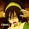 lisaquestions: Toph from Avatar: The Last Airbender (Toph Rawr)