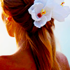 zaubra: (white flowers hair)