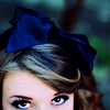 zaubra: (blue bow eyes)