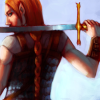 lasselanta: (sword as big as her)