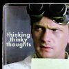 "talibusorabat: A white man with large goggles ""thinking thinky thoughts"" (Dr. Horrible: Thinky Thoughts)"