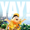"talibusorabat: A cartoon Asian boy with his arms outstretched ""YAY!"" (Up: YAY!)"