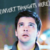 """talibusorabat: A young white man looking up """"(insert thoughts here)"""" (Primeval: Insert thoughts)"""