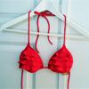 zaubra: (red bikini top)