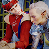 dirthena: (that hat is clipping through his face)