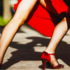 zaubra: (red skirt shoes)