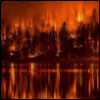 traumata_irrealis: A forest fire (Default)