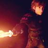 drekisal: (Flame sword.)