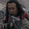 iprotectyou: Baze Malbus holding his heavy repeater rifle and raising his brows (I think not)