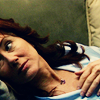 eraisme: Laura Roslin from Battlestar Galactica lying down on a sofa (bsg roslin gasp)