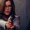 eraisme: Sharon Raydor pointing a gun (mc sharon badass)