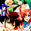 batman: The cast of Higurashi no naku koro ni (happier days)