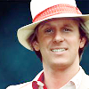 annariel: Peter Davison as the Fifth Doctor (Who:Tegan)