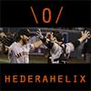 hederahelix: Bumgarnerer and Posey celebrate (\0/)