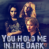 tmbreck: Bonnie, Caroline, and Liz. Time travel fic (You Hold Me in the Dark)