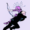 geckoholic: (Marvel: Clint+Kate Hawkeye carried)