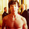 come_at_once: (shirtless sherlock)