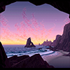zimena: (Scenery - Pink beach)
