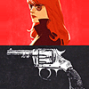 geckoholic: (Marvel: Nat Black Widow with a  gun)