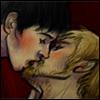 bradspyjamas: (Brolin/Merthur kiss)