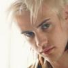 rebelseekspizza: (dante pb: white hair side-eye)