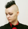 feather333: (mohawk me)