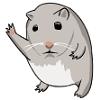 emeraldembers: (Gen - hamster hi-five)