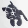 fflo: (charcoal muffin dog)