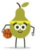 fflo: (bball pear)