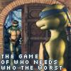 """saereneth: (Leo/Raph """"The Game"""")"""