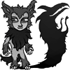 whatwith: (shadow wolf)