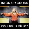 veronicamae: (Madonna - ur cross)