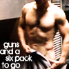 olaf47: (guns and a six pack)
