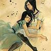 daydream11: (Art: Two Girls)