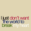 rowofstars: (Random - The world breaks my heart)