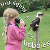 estel: (indulging in my kookaburra)