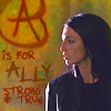 sanitylapse: (FS: Aeryn: A is for Ally strong & true)