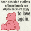 sanitylapse: (Have heartache? Get a bear. (by Slod))