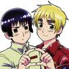 mandas: (APH - Japan/Kiku & England/Arthur 2)