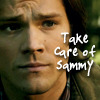 zara_zee: (Take Care of Sammy)