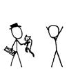 glitterary: (caption!cats men)