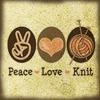 purplehaze8: (MS - Peace Love Knit) (Default)